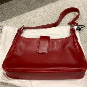 Coach 1941 red shoulder bag